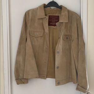 Eddie Bauer suade jacket